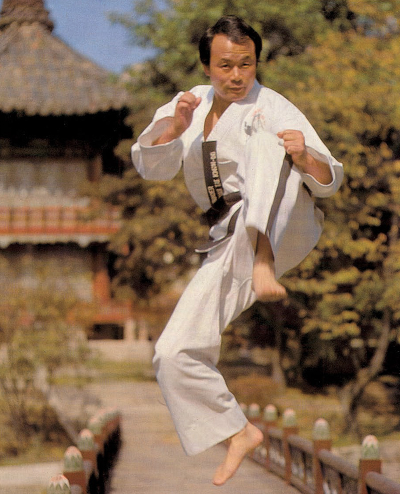 World Master Rhee in Action
